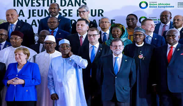 President Buhari participates at the Opening Ceremony of the 5th AU-EU Summit on 29th Nov 2017