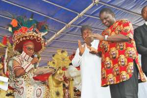 Femi Adesina and Igwe