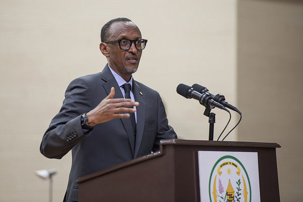 African Union Chairperson, Paul Kagame
