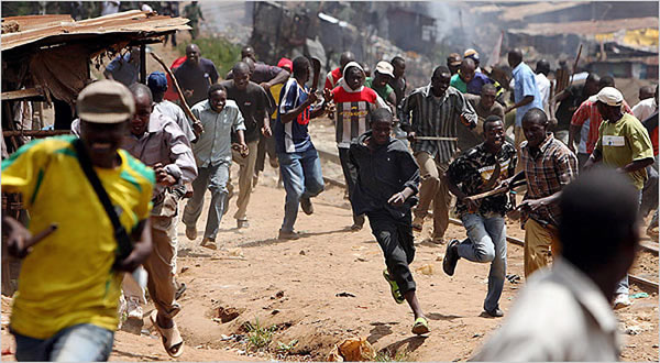 File photo of Crisis in Jos, Plateau State
