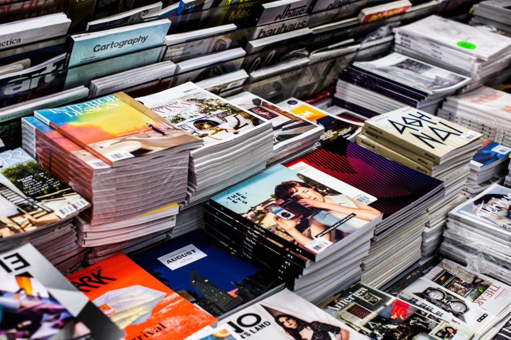 Books, Magazines, Newspapers + Inserts