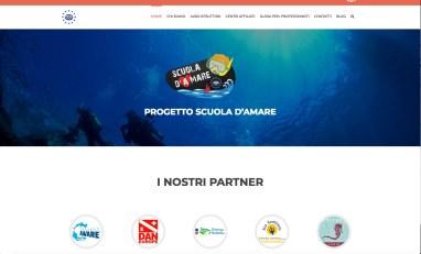 Scuola d'Amare Ocean Literacy diving