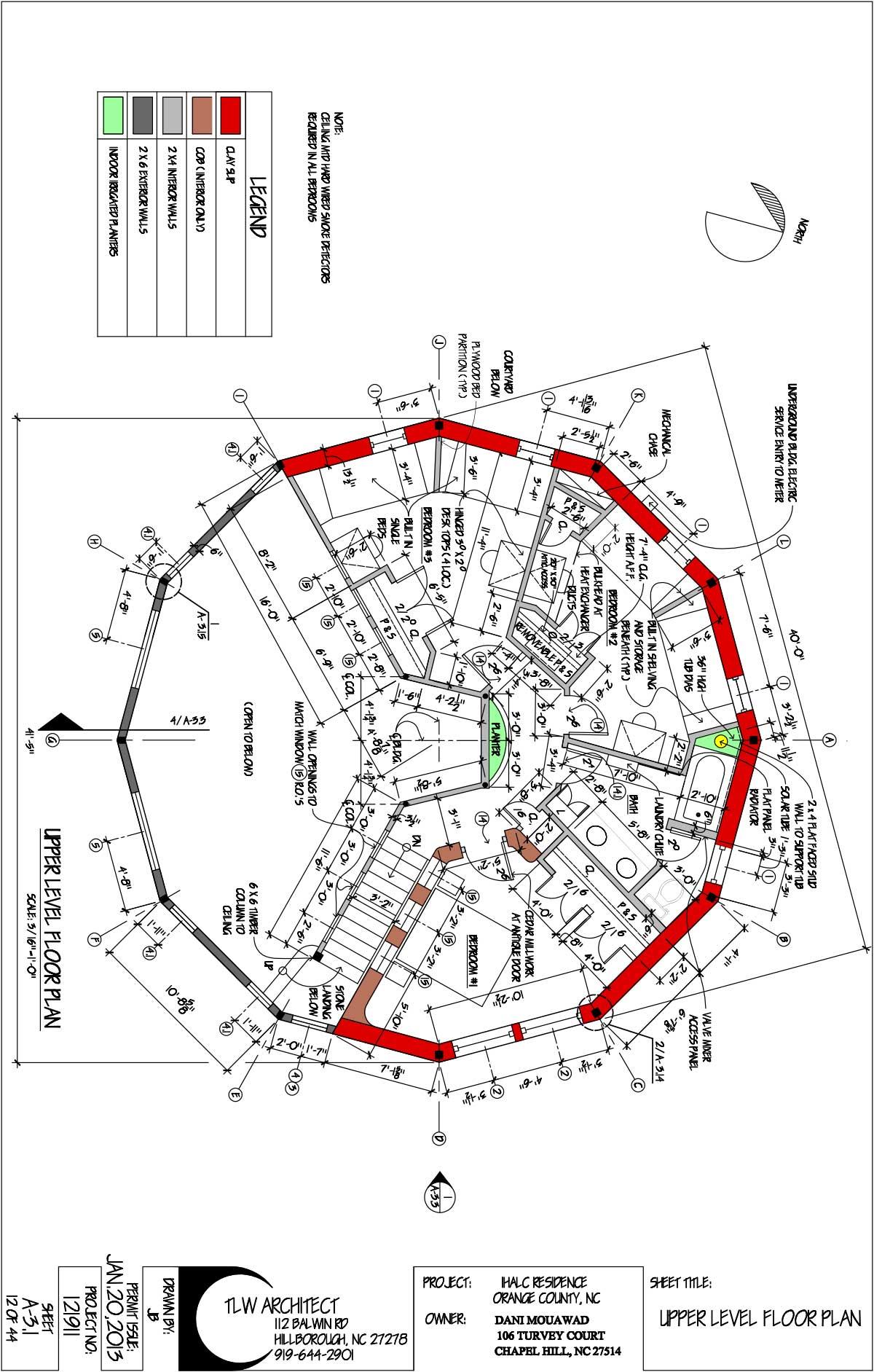 Green Builder Hoty Entry Integrative Healing Center Residence
