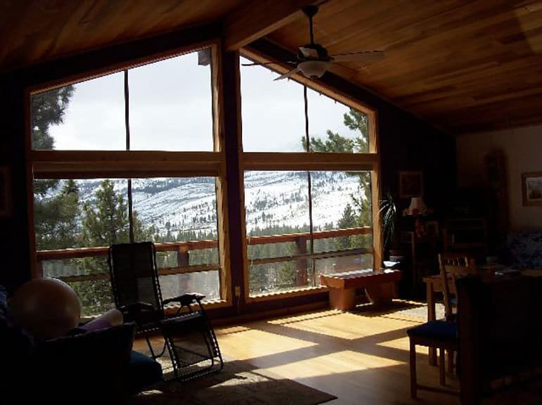 Energy efficient windows - Triple pane windows