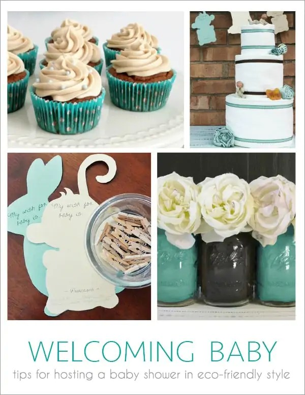 How To Host An Eco Friendly Baby Shower