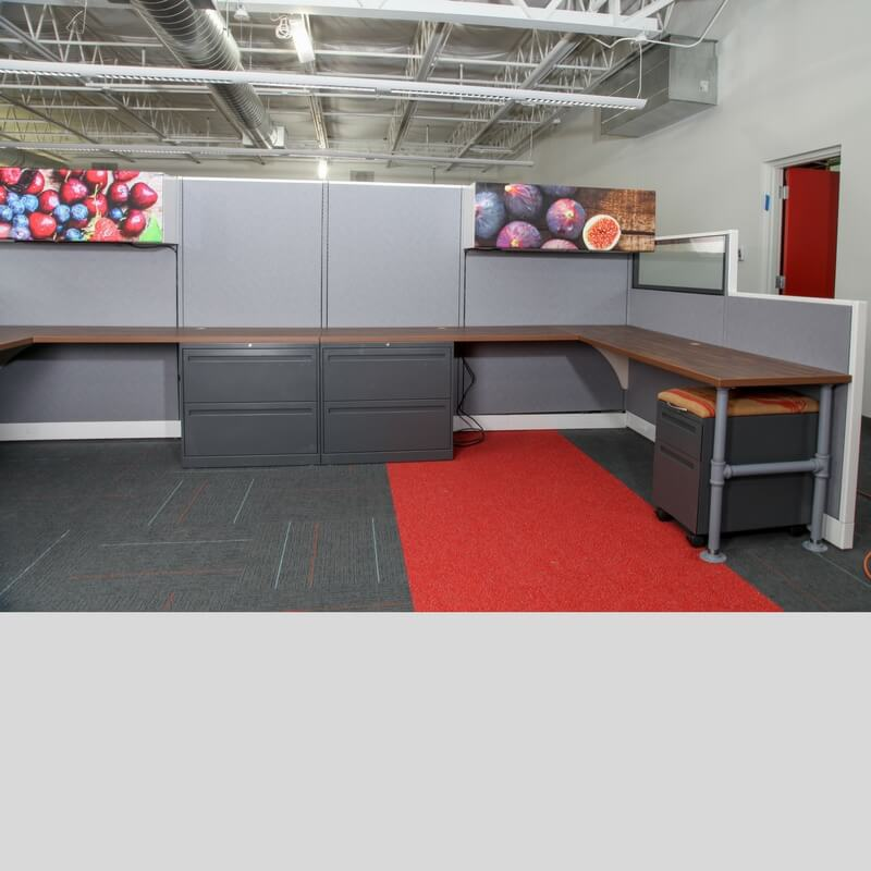 Industrial Office Cubicles Green Clean Designs Workstations Kansas City