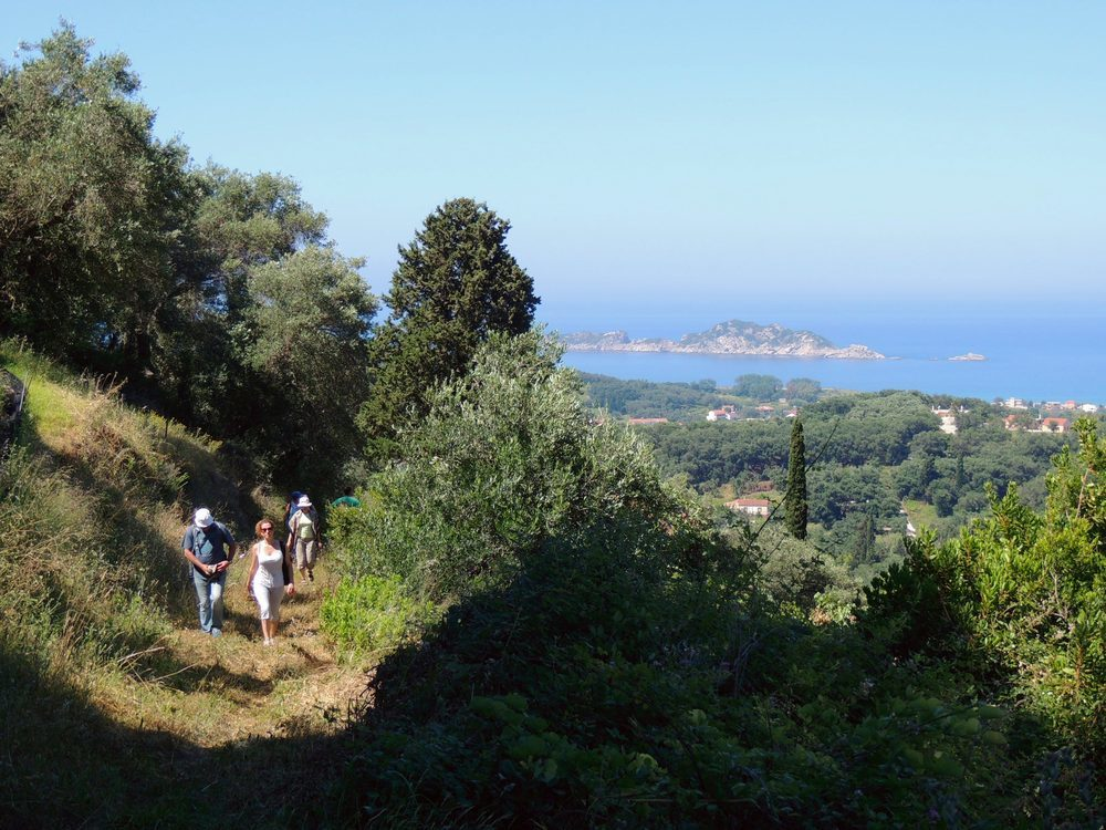 Arillas trail view