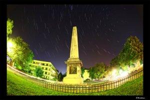 startrails-over-douglas-obelisk