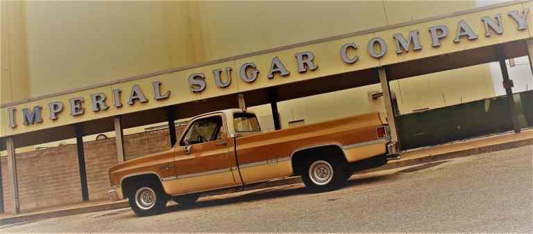 The Imperial Sugar Land building in Sugar Land, TX