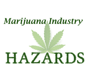 Identified Cannabis Workplace Hazards