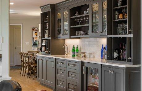 Allen Farm - kitchen, bathroom, and cabinet design by Lisa Green Design