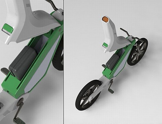 amur leopard electric bike concept