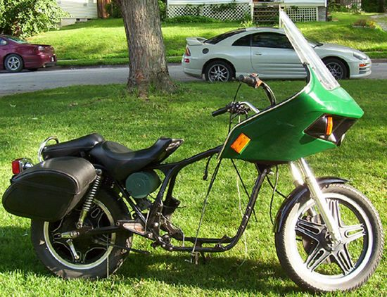 bike from junk