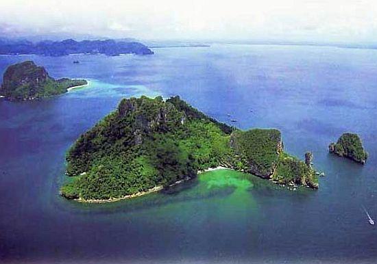 chicken island in thailand