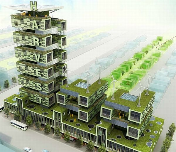 Harvest vertical farm