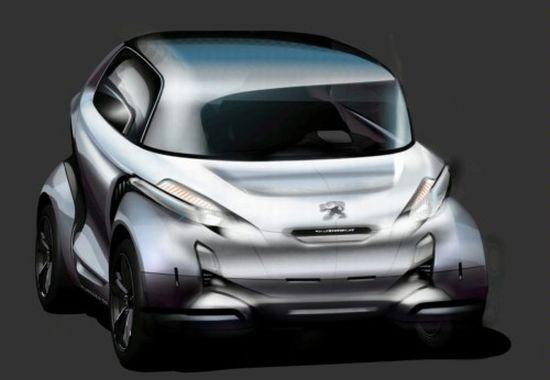 Specs Revealed Peugeots Bb1 Concept Car Is A Zero Emission Solar