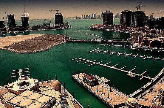 qatar pearl lagoon