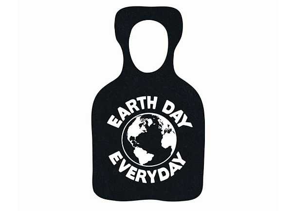Recycled Rubber Bottle Opener