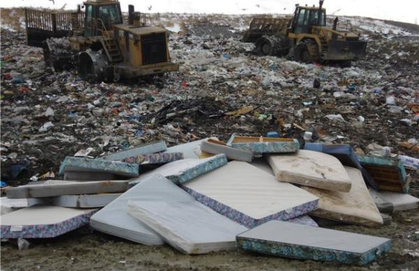 Reuse old mattresses