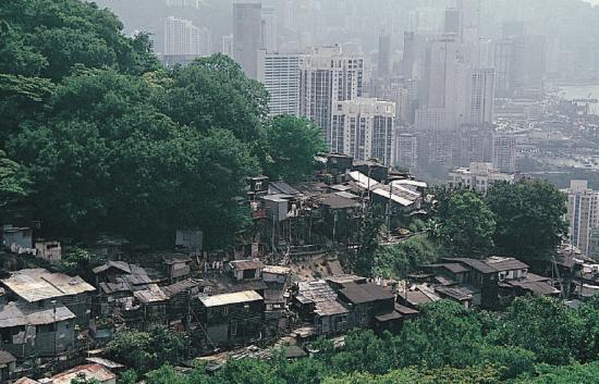 shanty housing in hong kong