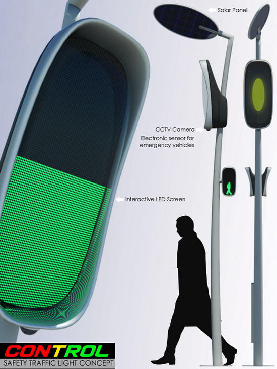 Smart traffic light system utilizes solar power to promise road ...
