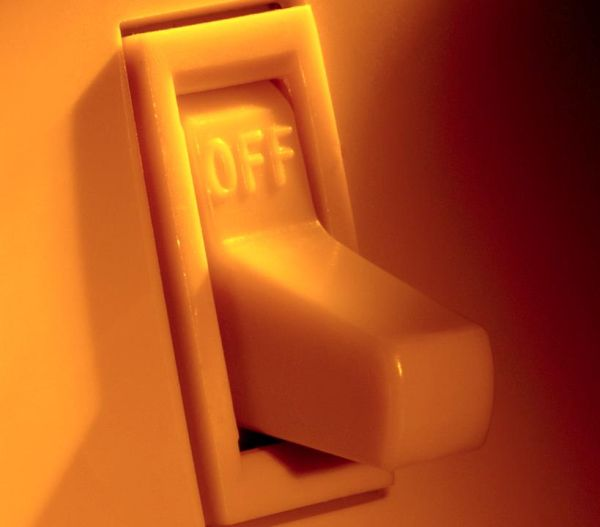 Turn off lights