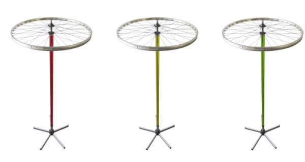 wheely recycled cloth stand 3