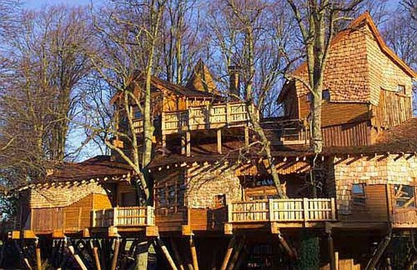 Biggest Treehouse In The World worlds biggest tree househorace burgess. largest treehouse in