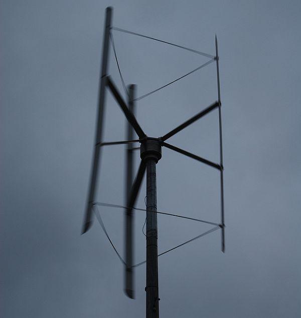 Vertical axis wind turbines (4)