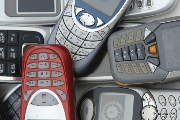 used old GSM Cell phones