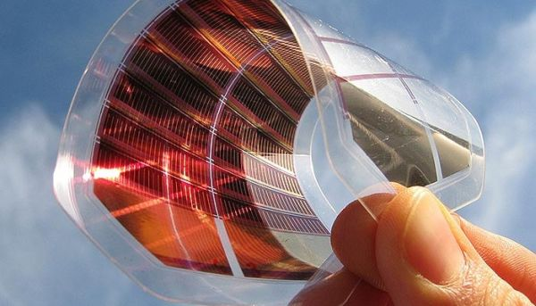 paper thin solar cells