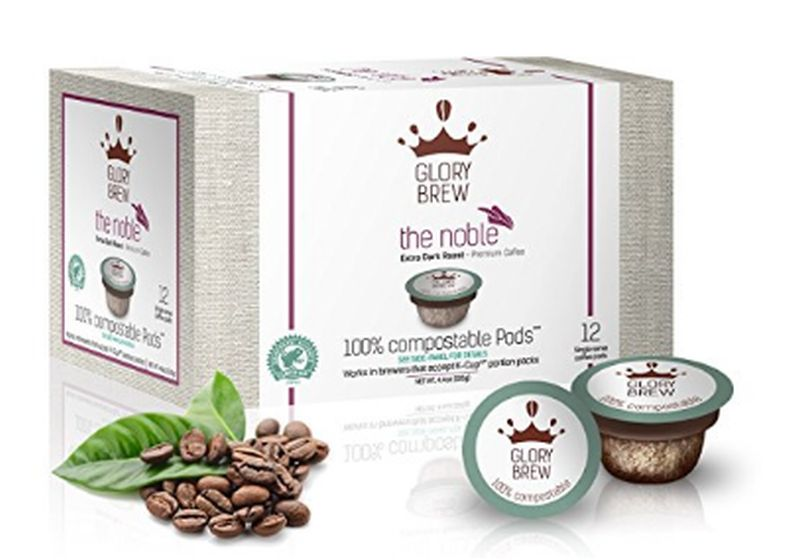 Glorybrew compostable Keurig K-cups