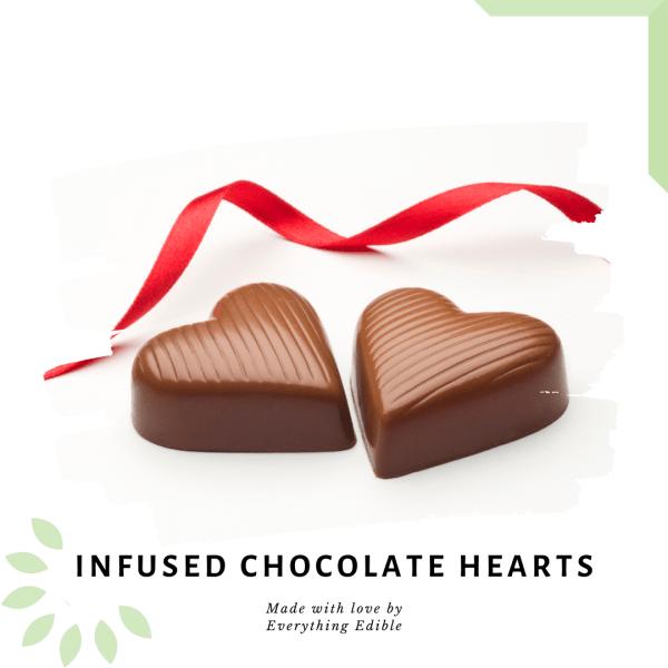 Infused Chocolate Hearts