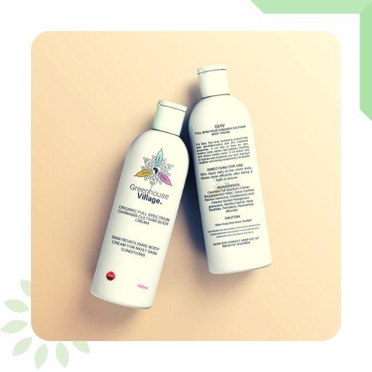 Body Cream by Greenhouse Village