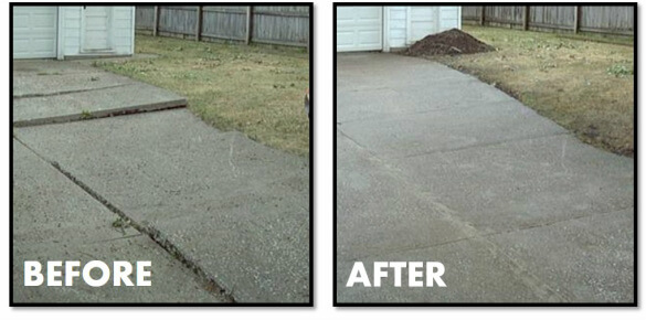 Driveway Leveling solution