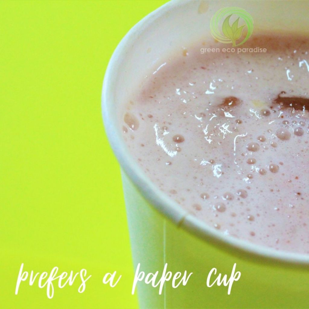Get the right paper cup for smoothies