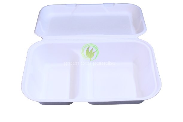 2 Compartment lunch box