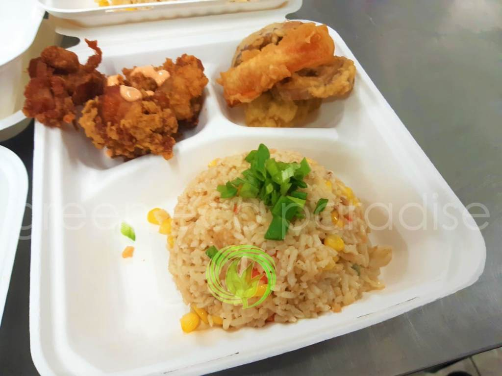 Set meal container in schools