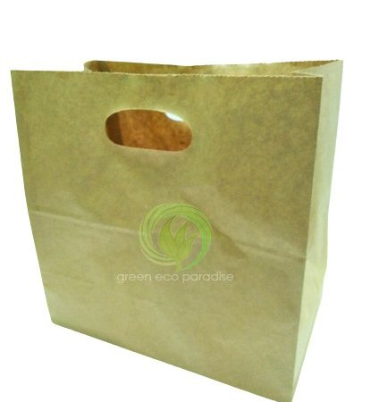 die cut paper bag