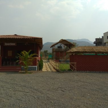 Shivar Hotel on the way from Panshet to Pune