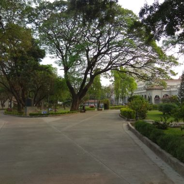 View from main entrance towords Palace