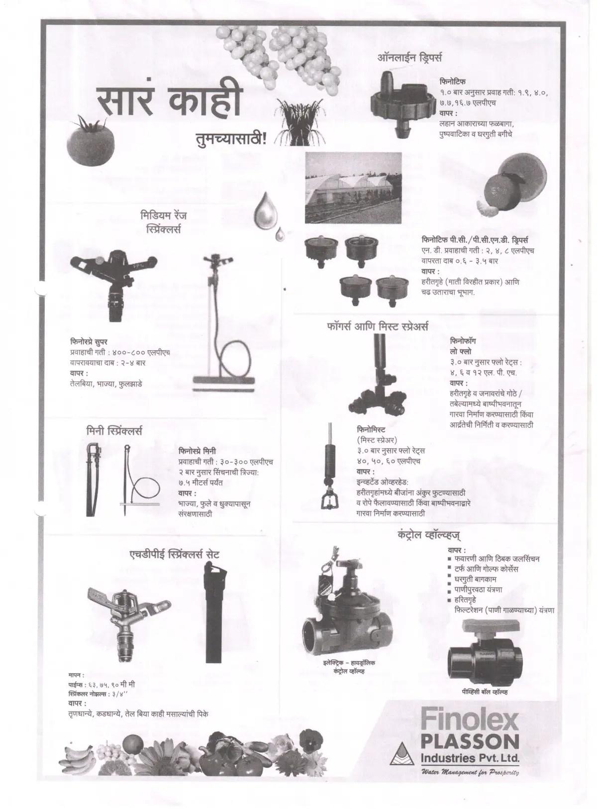Finolex Plasson Industries Pvt Ltd