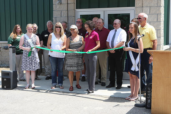 Dedication of the newly renovated event center