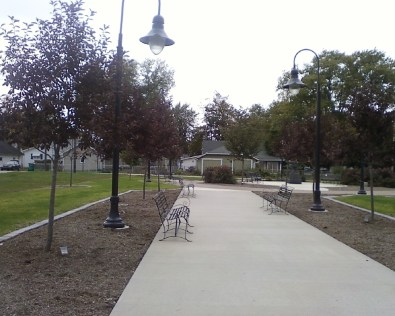 Worthington Park built from a vacant lot