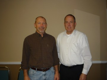 Board members Tom Roberts & Bob Weeks