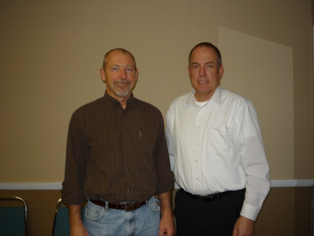 Board members Tom Roberts & Bob Weeks