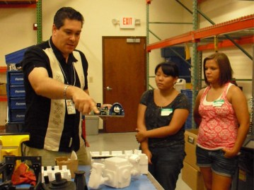 Scholarship recepients learn about job opportunities locally