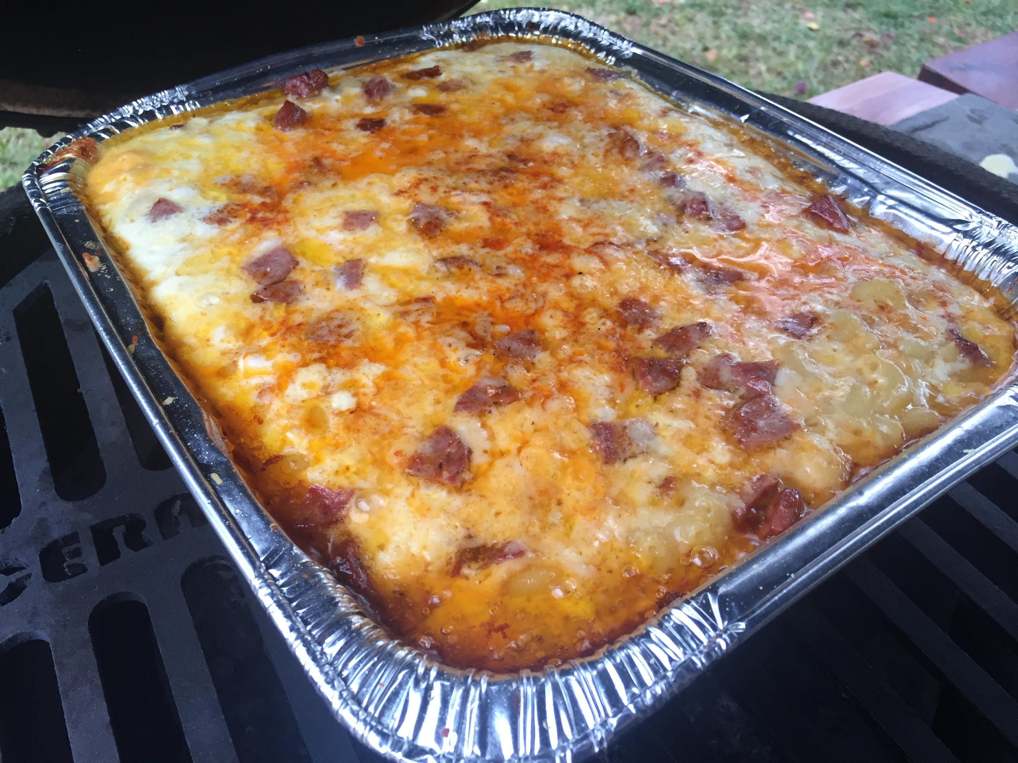 Smoked 3 Cheese Lasagna