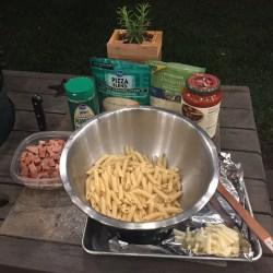Sausage Penne Prep