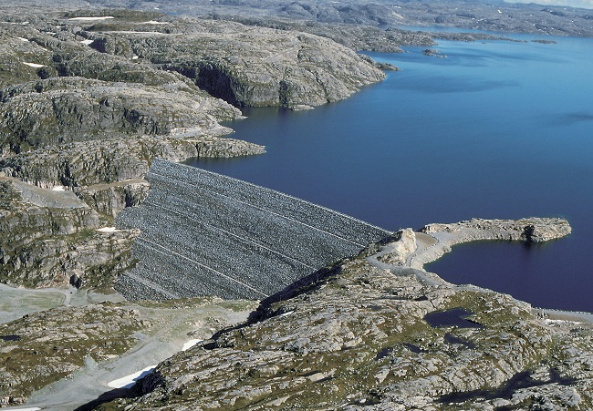 Norwegian dam. Statkraft photo.